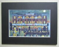 "Northern Soul; Wigan Casino; Mounted Print; ""Moonlight, Music and You"""