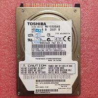 "TOSHIBA (MK1032GAX) 100 GB HDD 2.5"" 16 MB 5400 RPM PATA Laptop Hard Disk Drive"