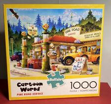 "Cartoon World 'Pine Road Service' 1000 Piece Jigsaw Puzzle 26.75""x19.75"""