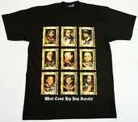 HIP HOP ROYALTY T-shirt Rappers Urban Streetwear Men's Tee Adult 100%Cotton New
