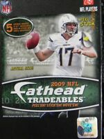 FATHEAD 2009 NFL Football Players Logos Trading Cards Room Decor Decals Stickers