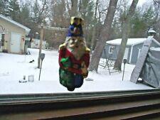 Vintage Christmas Ornaments Mercury Blown Glass, Santa, Germany
