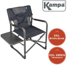 XXL Campingstuhl EXTRA breit Tragkraft 180KG Regiestuhl  Klappstuhl mit Tisch