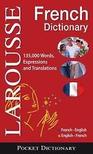 NEW - Larousse Pocket Dictionary : French-English / English-French