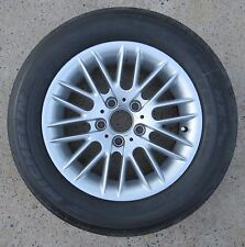 """BMW E 39 Style 82 Wheel Rim & Tire OEM 16"""" x 7 530i 225 55 16 MICHELIN PILOT HX"""