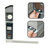 Digital Electronic Angle Finder Goniometer Protractor Fast Gauge Measuring F9F0