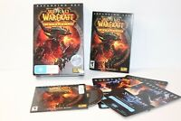 World Of Warcraft PC CATACLYSM EXPANSION SET Blizzard free shipping