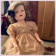 """Rare 28"""" Lovums composition Talking Doll Effanbee  Composition"""