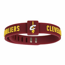 Cleveland Cavaliers Silicon Bracelet Basketball Teams adjustable Wristband Strap