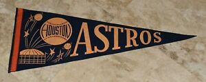 Very Rare 1960's HOSTON ASTROS Original 29 Inch Pennant-Great Condition-Nice!