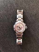 Cartier pasha Ladies watch reloj de pulsera w3140008 Stainless Steel rosa 27mm