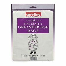 "Caroline Pack of 5 Roasting Bags with Ties 12"" x 17"" (30 x 43cm) Baking Cooking"