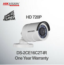 HIKVISION Bullet Security Camera HD 720P 2.8mm Lens CCTV HDTVI DS-2CE16C2T-IR