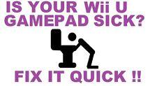 Broken Charger Port Part Repair Service For Nintendo Wii U Gamepad Controller