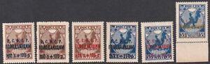 Russia 1922 Mi 169-70 (a plus b plus c) MNH OG