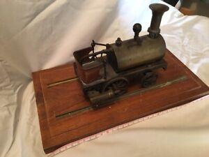 Brass Steam Locomotive model