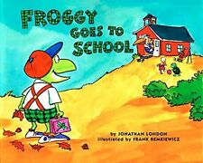 Froggy Series : Froggy Goes To School (pb) Johathan London  NEW