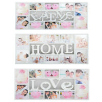 MULTI PHOTOFRAME FAMILY LOVE FRIENDS FRAMES COLLAGE PICTURE WALL PHOTO GIFT