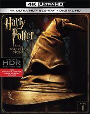 PREORDER: HARRY POTTER SORCERER'S STONE (4K ULTRA HD) - Blu Ray -  Region free