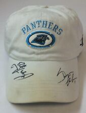 CAROLINA PANTHERS autographed hat ~ REGGIE HOWARD, SHAYNE GRAHAM