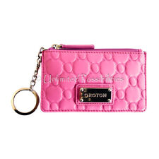 OROTON Roche Zip Coin Purse New Wallet Classic Pink with Tags