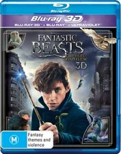 FANTASTIC BEASTS and Where to Find Them : NEW Blu-Ray 3D