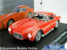 MASERATI A6GCS BERLINETTA PININFARINA MODEL CAR 1:43 SCALE RED IXO ALTAYA K8Q