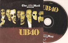 CD CARDSLEEVE COLLECTOR 15T UB 40 MAIL ON SUNDAY UK 2007