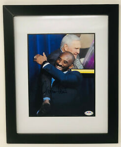 PSA/DNA LA Lakers JERRY WEST Signed Autographed FRAMED 8x10 Photo KOBE BRYANT