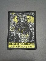 Black Sabbath The End Tour 2016 Patch for jacket, t-shirt Iron on Woven Badge