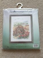 The DMC Nostalgia Collection Counted Cross Stitch K1172 Forgotten Cart