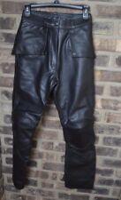 FieldSheer 100% genuine Leather Motorcycle Pants size 30 Protective Knee BF