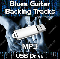 170+ GREATEST BLUES MP3 GUITAR BACKING TRACKS JAM TRACKS USB DRIVE LIBRARY