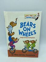 Bears on Wheels Hardcover 1969 First Ed Grolier Book Club Edition Berenstain