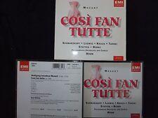 COFFRET 3 CD MOZART / COSI FAN TUTTE / BÖHM / SCHWARTZKOPF - LUDWIG /