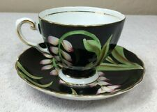Vintage Fine Bone China Cup and Saucer by Tuscan England C 9462