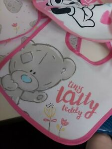 Baby Girls Bibs X9
