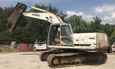 Terex Excavator Shear Scrap Demolition Txc225Lc-1 With Extra Wear Parts