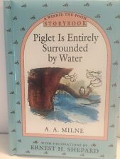 Piglet Is Entirely Surrounded By Water Winnie The Pooh Storybook 97 Anytime Book