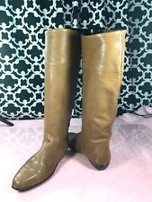 Vintage Maria Pia Tan Brown Leather Boots - Sz. 5.5