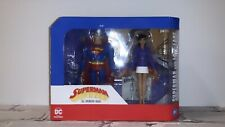 """Superman & Lois Lane The Animated Series #01 6"""" Action Figure Set Dc Collectible"""