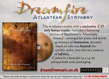 DREAMFIRE - Atlantean Symphony antique book version CD Dead Can Dance Elend