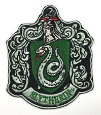 HARRY POTTER HOUSE OF SLYTHERIN NEW CREST LOGO PATCH NEW IRON ON