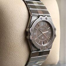 CHOPARD St. Moritz Damen Armbanduhr Stahl 8025 32mm in original Box Wristwatch