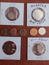 9 Error And Planchette Coins