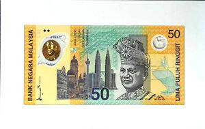 1998 MALAYSIA 50 Ringgit SUKOM NINET EIGHT BERHAD Commemorative(+1 note)#11831