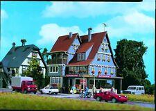 Vollmer 43660 Supermarkt mit Inneneinrichtung + Beleuchtg Romantik, Bausatz, H0