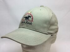 NEW BULLE ROCK GOLF CLUB HAT FITTED MEDIUM KHAKI MADE IN USA