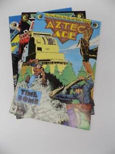 Aztec Ace Lot Of 3 Eclipse Comics # 6-8 Moench Hernandez Redondo GUC 1984