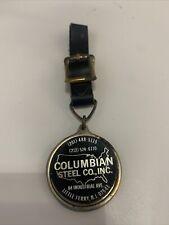 Watch Fob Columbian steel